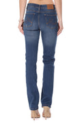 MikuRi 10 Women's 5 Pocket High-Rise Distressed Skinny Fit Denim Jeans