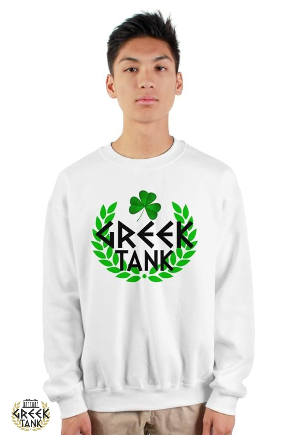 GreekTank Crew Neck St. Patty's