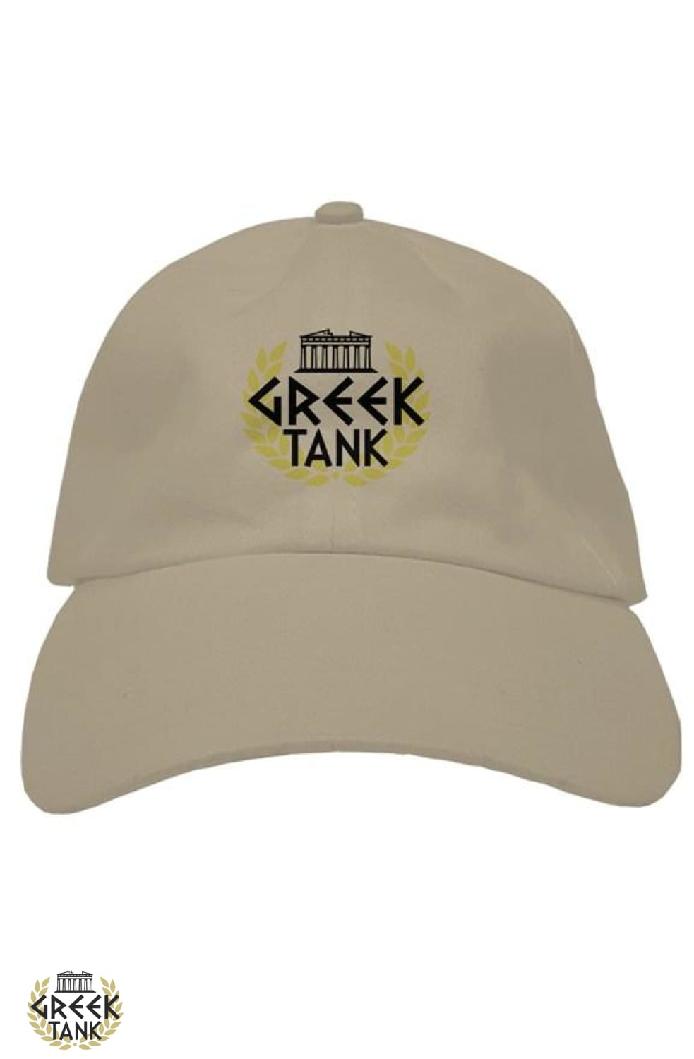 GreekTank Hat Black Logo