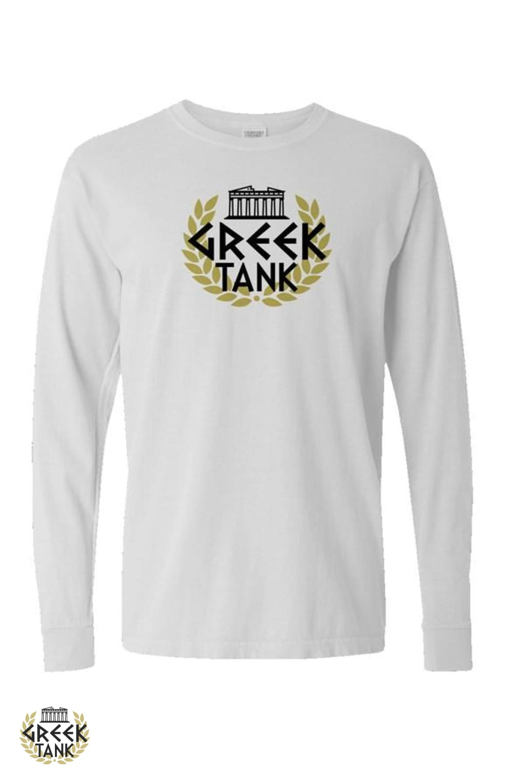 GreekTank Long Sleeve Black Logo