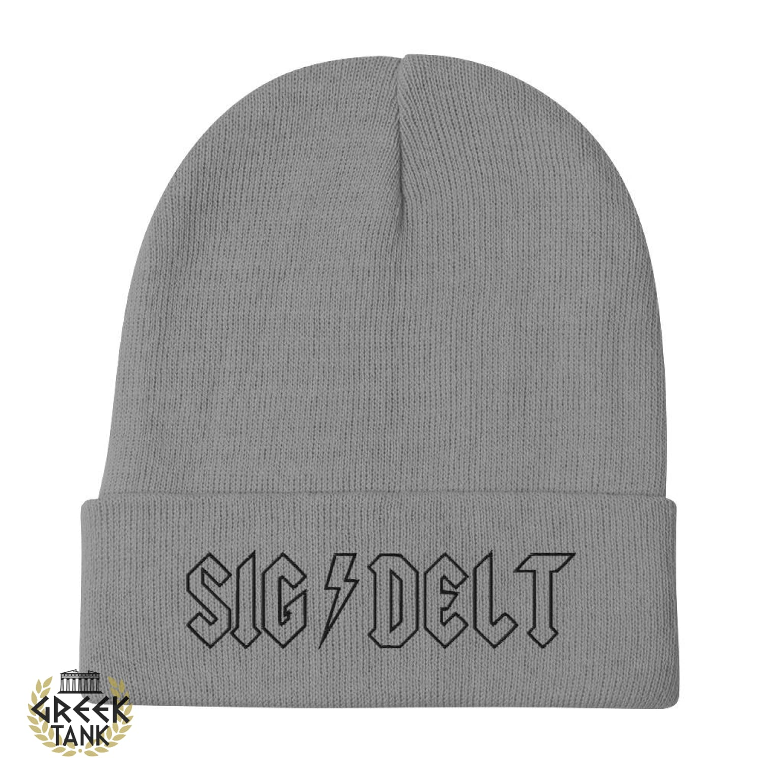 Sdt Embroidered Beanie Rock N Roll
