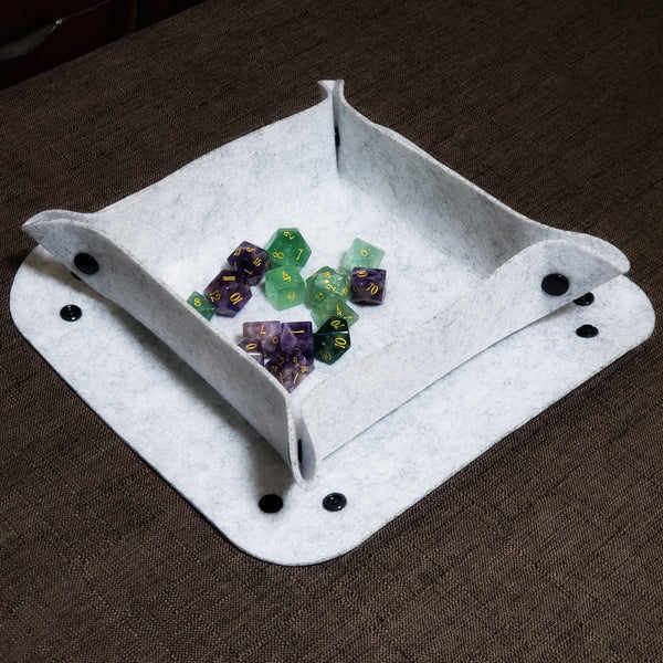 URWizards Soft Wool Felt Dice Tray - Soft Tray - Dungeons and Dragons - RPG Game - DND MTG Game - Urwizards