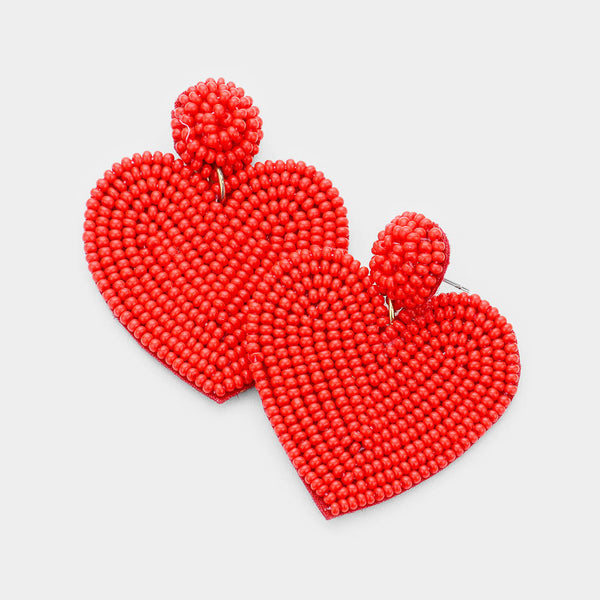 U Have My Heart Earrings