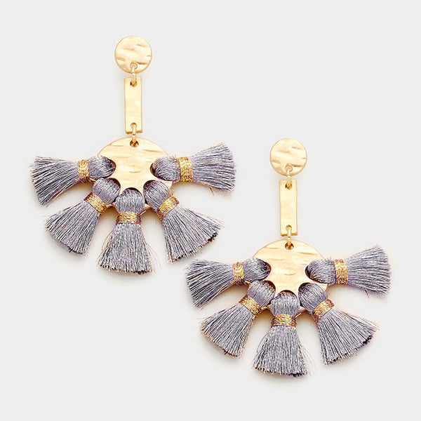 Rania Tassel Earrings