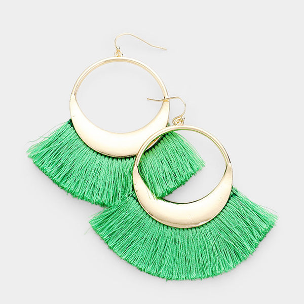 Udo Tassel Earrings