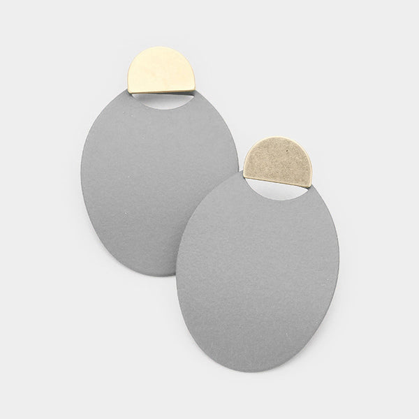 Esme Oval Earrings