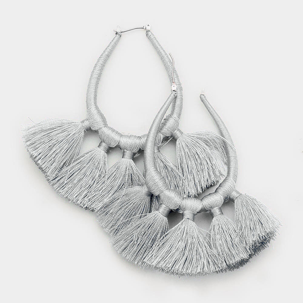 Zola Tassel Earrings