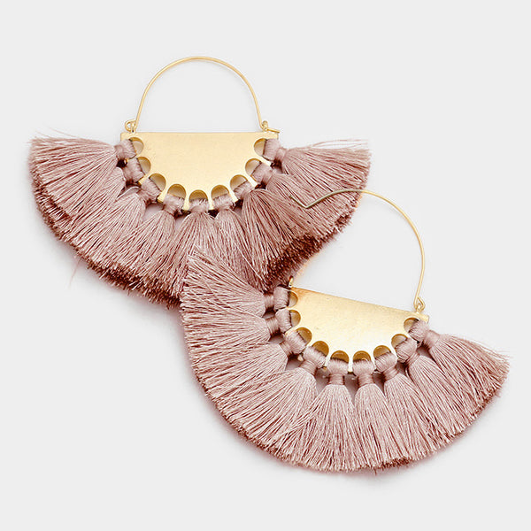 Elsie Tassel Earrings
