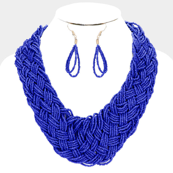 Yana Beaded Necklace Set