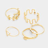 Sophia 5pc Ring Set