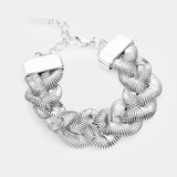Markle Braided Chain Bracelet