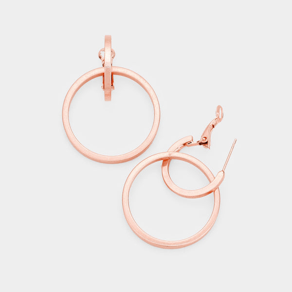 Mandisa Double Hoop Earrings