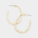 Zola Geo Hoop Earrings