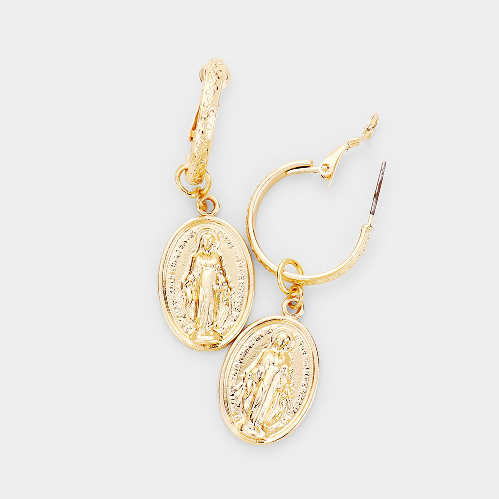 Oni Saint Earrings