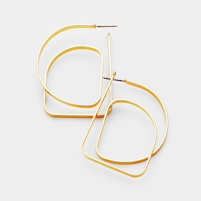 Eliza Abstract Earrings
