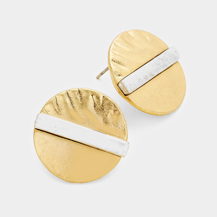 Elise Disc Earrings
