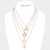 Love Multi Pendant Necklace