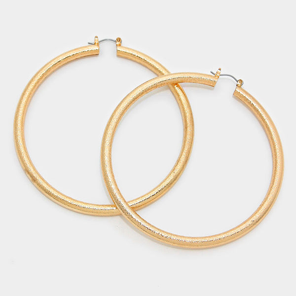 14k Gold Filled Hoop Earrings