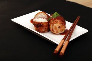 Bacon-Wrapped Rice Balls