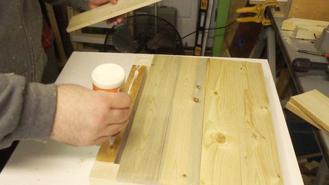 Gluing the planks