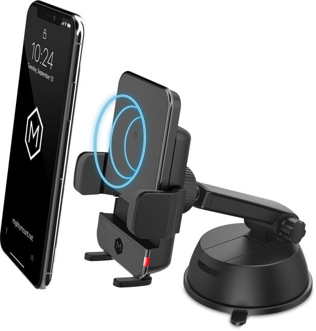 Simpl Wireless Charger - Dash & Windshield Mount