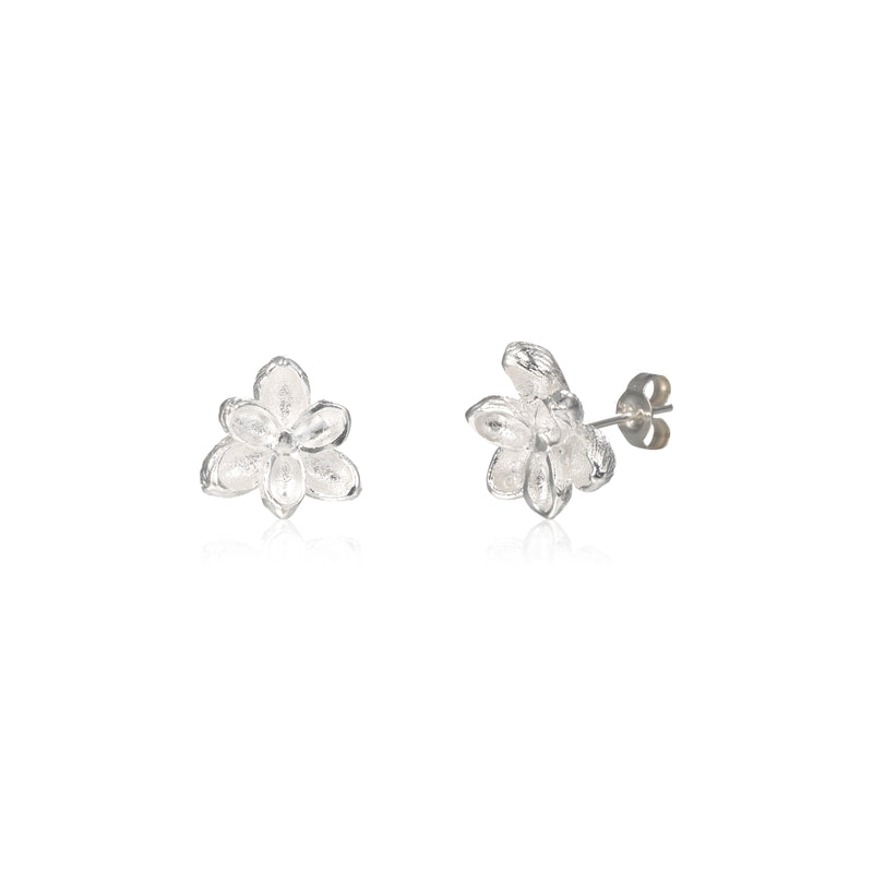 "荷花 ""銀"" 耳環 - Summer Dream ""Silver"" Earrings - GINYU 今鈺"