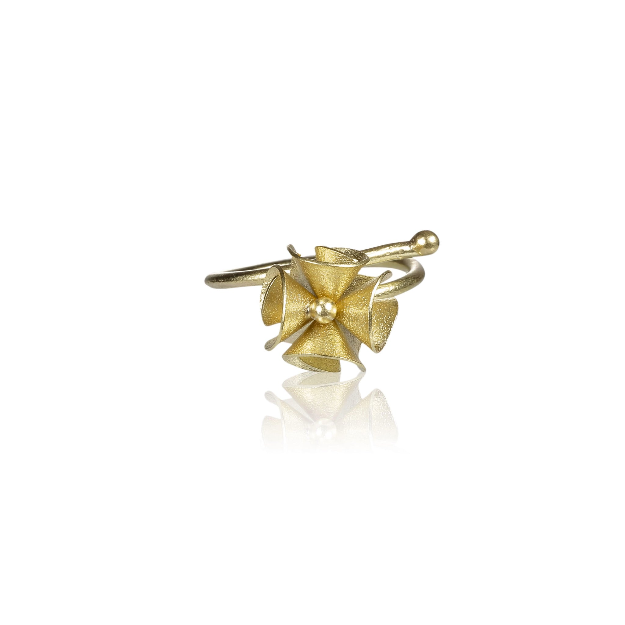 "繡球花 ""金"" 戒指 - Spring Bloom ""Gold"" Ring"