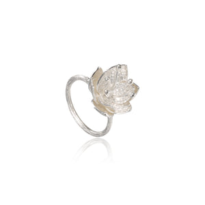 "荷花 ""銀"" 戒指 - Summer Dream ""Silver"" Ring - GINYU 今鈺"