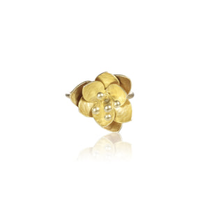 "荷花 ""純金"" 戒指 - Summer Dream ""Solid Gold"" Ring - GINYU 今鈺"