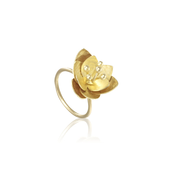 "荷花 ""金"" 戒指 - Summer Dream ""Gold"" Ring"