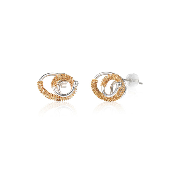 "循環 ""18K 金"" 耳環 - Loop ""18K Gold"" Earrings"