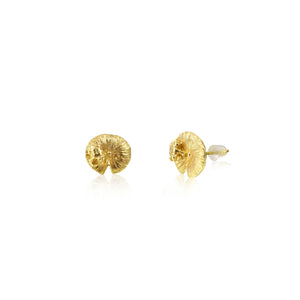 "井外之蛙 ""18K 金"" 耳環 - A Frog's Charm ""18K Gold"" Earrings - GINYU 今鈺"