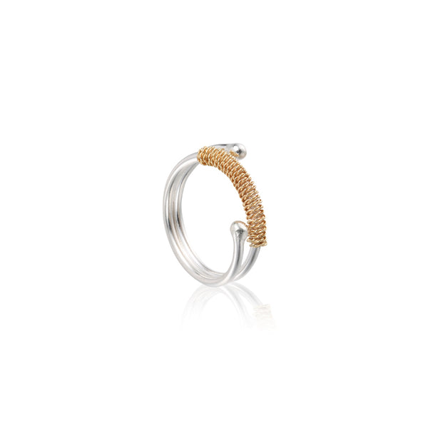 "循環 ""18K 金"" 戒指 - Loop ""18K Gold"" Ring"