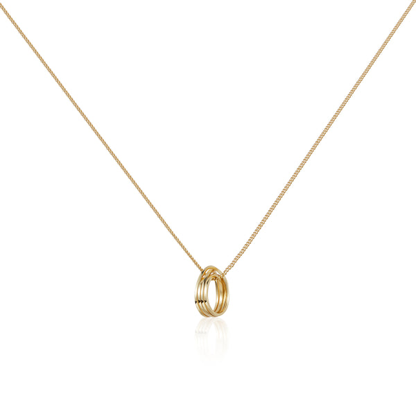 "相環 ""18K 金"" 項鏈 - LYNC ""18K Gold"" Necklace"