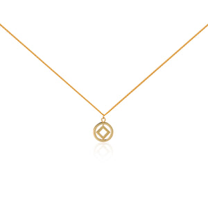 "圓方 ""金"" 項鍊 - Horizon ""Gold"" Necklace"