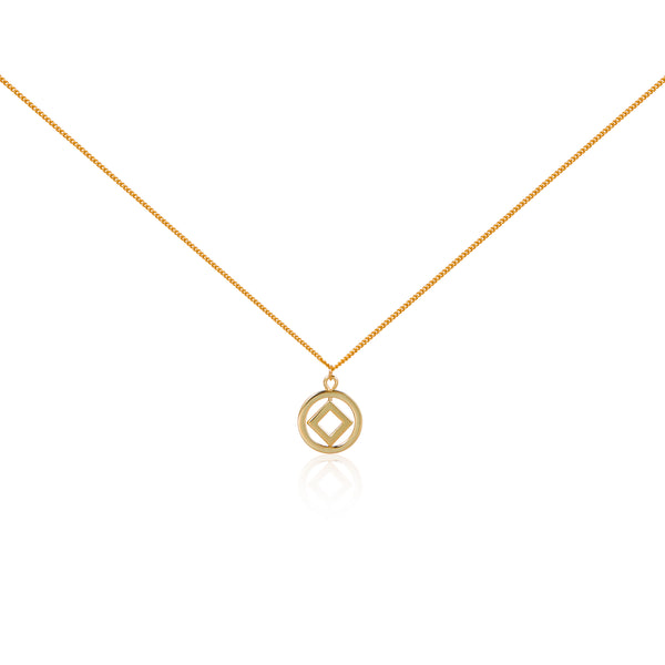 "圓方 ""金"" 項鍊 - Horizon ""14K Gold"" Necklace"