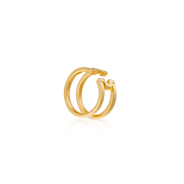 "圓方 ""金"" 戒指 - Horizon ""Gold"" Ring - GINYU 今鈺"