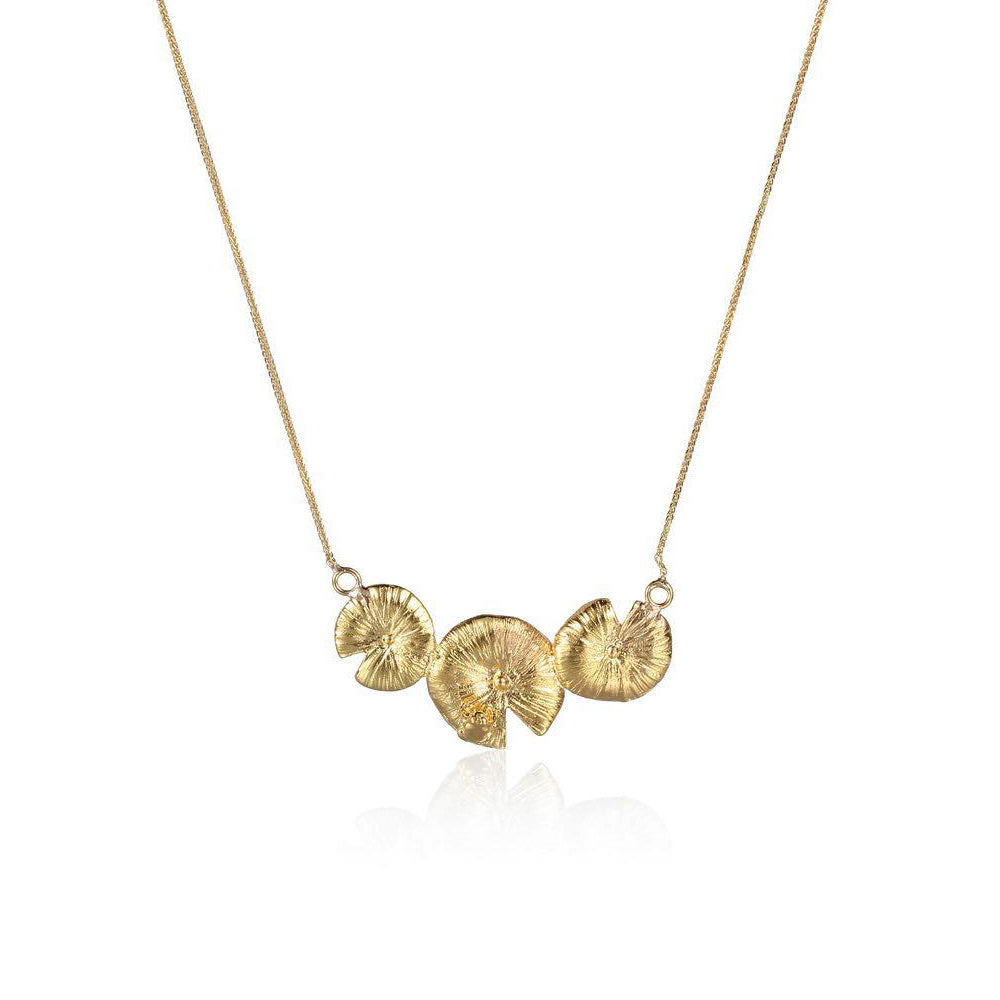 "井外之蛙 ""金"" 項鍊- A Frog's Charm ""Gold"" Necklace"