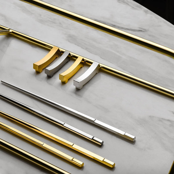 "金玉滿堂 ""金"" 筷  - The Family ""Gold"" Chopsticks Set - GINYU 今鈺"