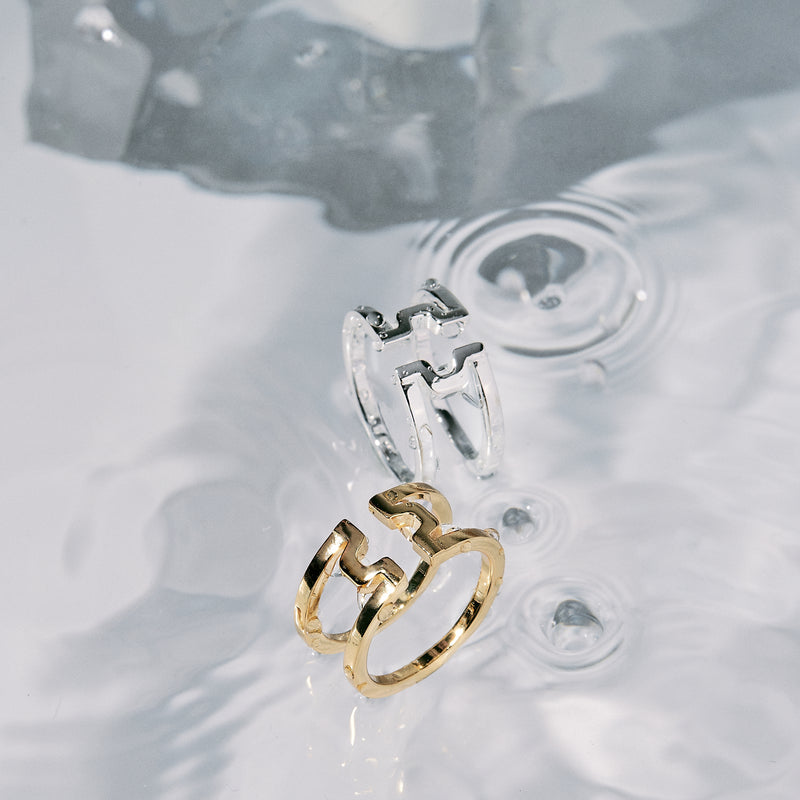 "圓方 ""金"" 戒指 - Horizon ""Gold"" Ring"