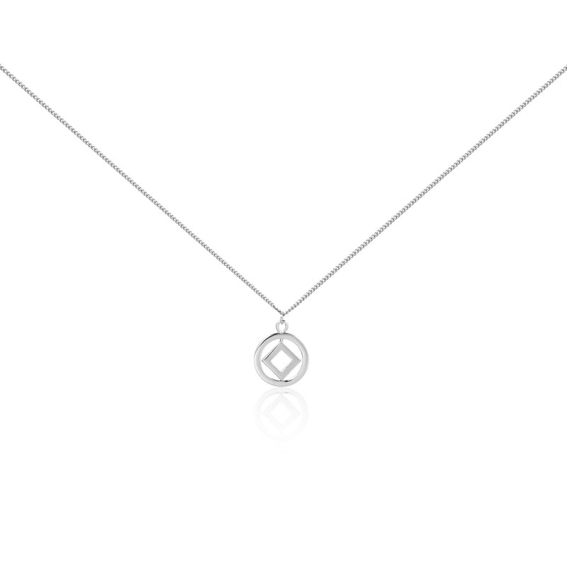 "圓方 ""銀"" 項鍊 - Horizon ""Silver"" Necklace"