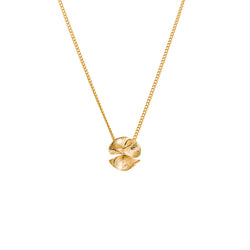 "繡球花 ""18K 金"" 項鍊 - Spring Bloom ""18K Gold"" Necklace - GINYU 今鈺"