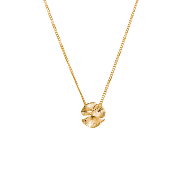 "繡球花 ""金"" 項鍊 - Spring Bloom ""Gold"" Necklace - GINYU 今鈺"