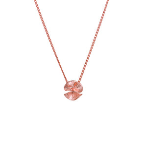 "繡球花 ""玫瑰金"" 項鍊 - Spring Bloom ""Rose Gold"" Necklace - GINYU 今鈺"