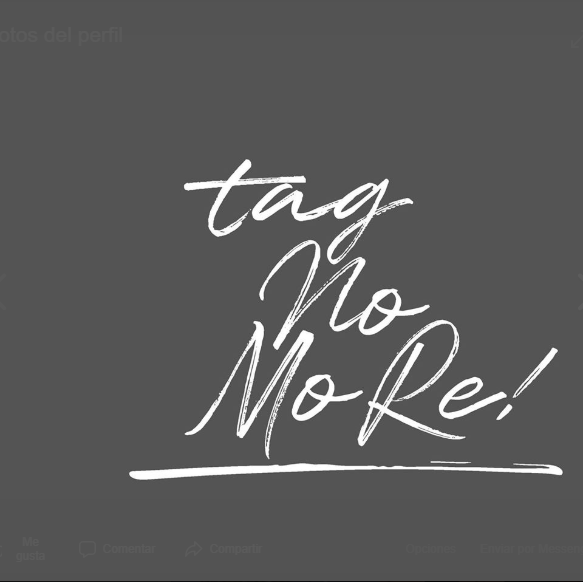 TAG NO MORE