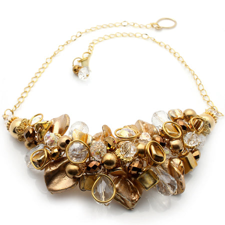 Gold Necklace - Nurit Niskala