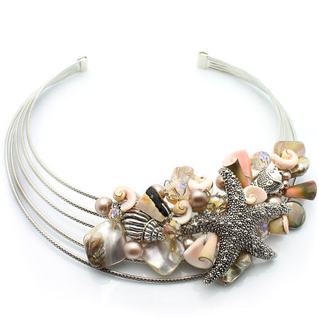 A Day at the Beach 5 Layers Choker - Nurit Niskala