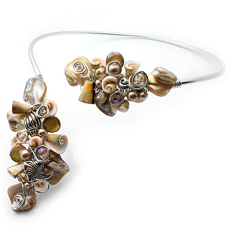 Beach Shells Open Choker - Nurit Niskala