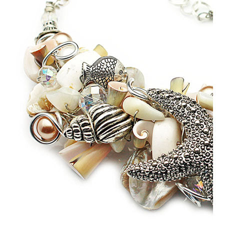 Starfish Shells Necklace - Nurit Niskala