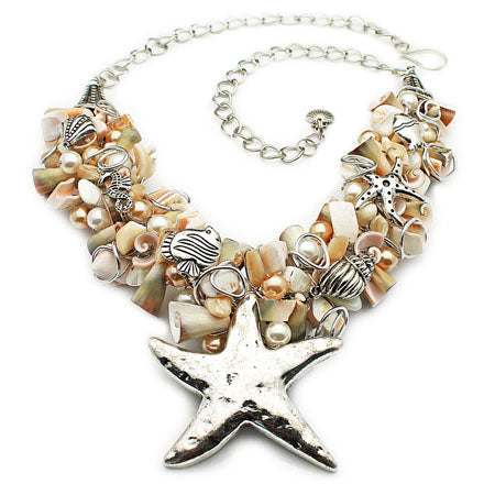 A WOW Starfish Necklace - Nurit Niskala
